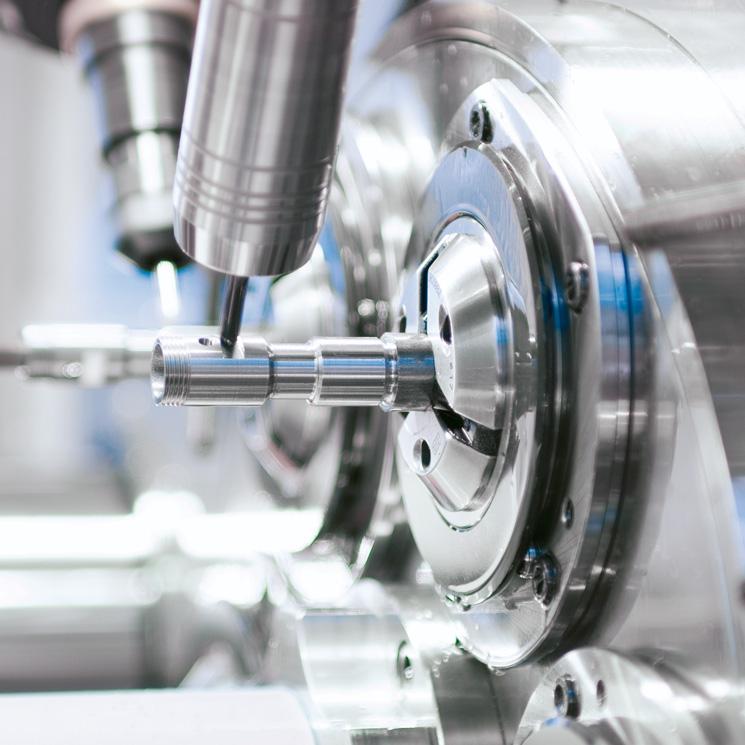 Zerspanen – Eisenhardt Metallteile GmbH